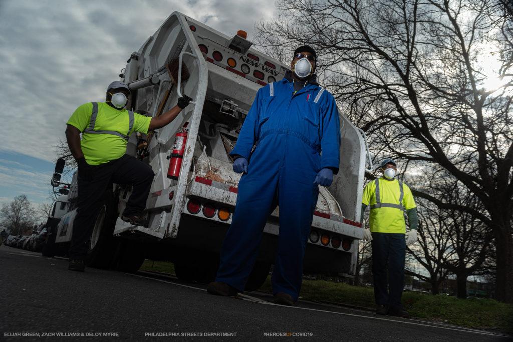 Philadelphia Sanitation Workers